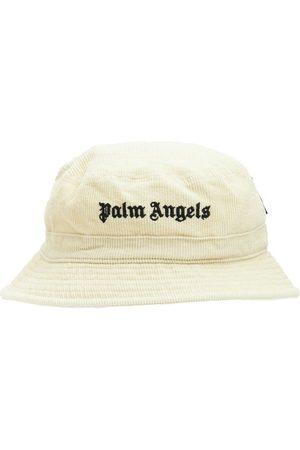 Palm Angels Naiset Hatut - Logo Corduroy Bucket Hat