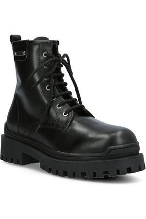 Karl Lagerfeld Naiset Cowboy - Biker Ii Shoes Boots Ankle Boots Ankle Boot - Flat Musta
