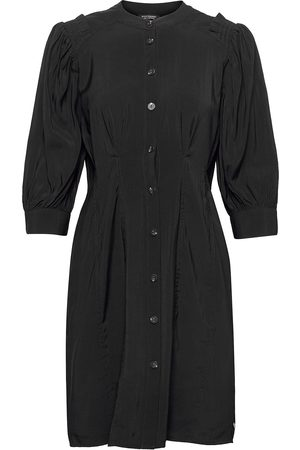 Scotch&Soda Printed Fitted Button-Through Dress Dresses Shirt Dresses