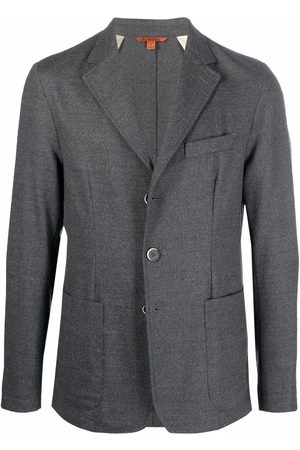 BARENA Fitted single-breasted blazer