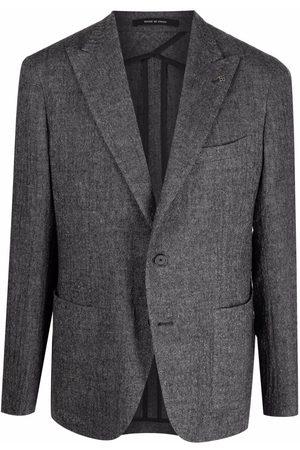 TAGLIATORE Single-breasted knitted blazer