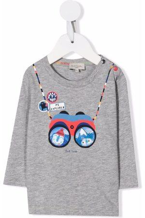 Paul Smith Binoculars-motif cotton T-Shirt