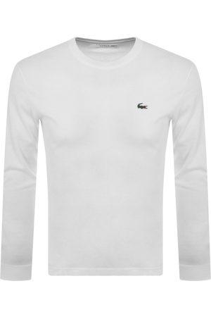 Lacoste Sport Long Sleeved T Shirt White