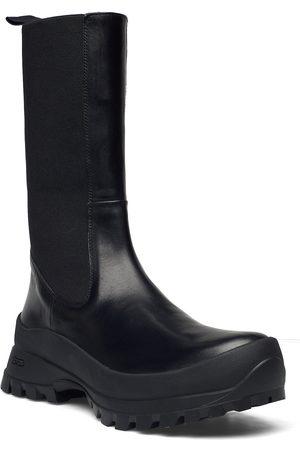 ATP Atelier Tolentino Black Vacchetta Shoes Chelsea Boots