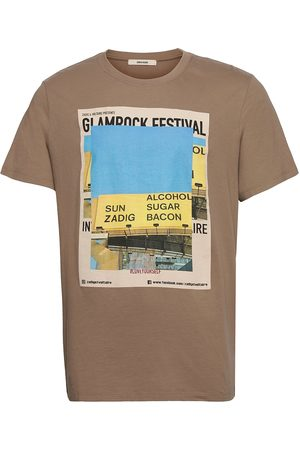 Zadig & Voltaire Ted Photoprint T-Shirt T-shirts Short-sleeved Ruskea