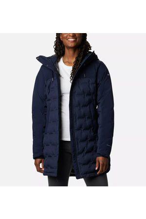 Columbia Naiset Untuvatakit - Women's Mountain Croo Long Down Jacket Nocturnal XL