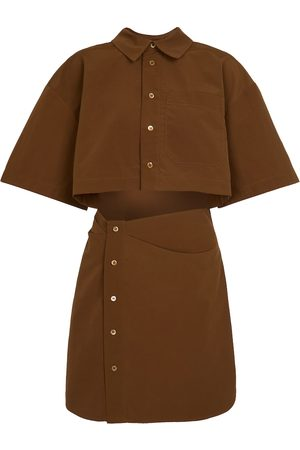 Jacquemus Vestido corto camisero La Robe Arles