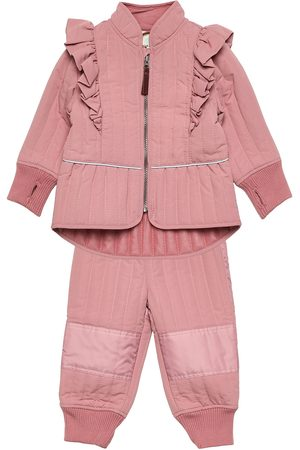 EN FANT Thermal Set Girl - Solid Outerwear Thermo Outerwear Thermo Sets