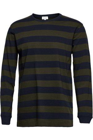 Armedangels Miehet T-paidat - Elmaar Stripes T-shirts Long-sleeved