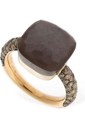 Pomellato Nudo Maxi 18kt Ring W/ Moonstone