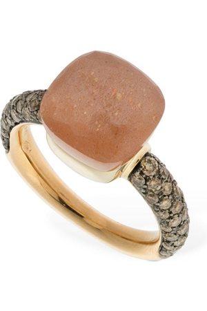 Pomellato Nudo Classic 18kt Ring W/ Moonstone