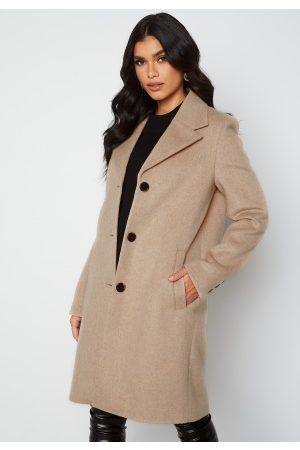 SELECTED New Sasja Wool Coat Beige 40