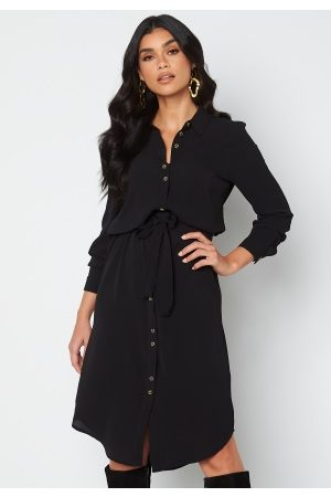 VERO MODA Sasha shirt l/s dress Black XL