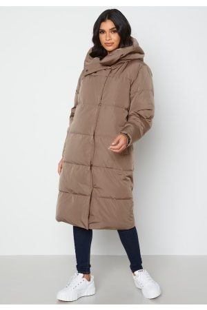 Object Louise Long Down Jacket Fossil S