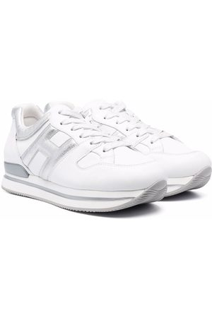 Hogan TEEN low-top lace-up trainers