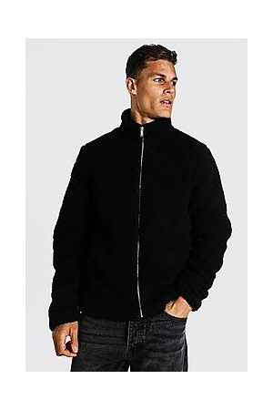 Boohoo Tall Borg Funnel Neck Jacket