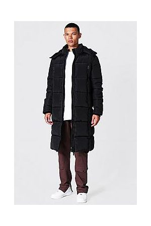 Boohoo Tall Size Recycled Longline Duvet Puffer