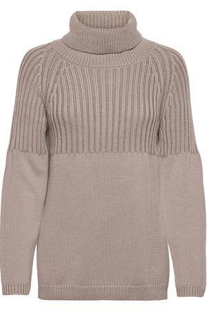 MOTHER OF PEARL Libby Roll Neck Sweater Kilpikonnakaulus Poolopaita Beige