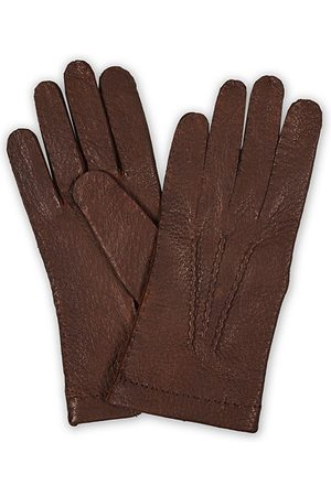 Hestra Peccary Handsewn Unlined Glove Sienna