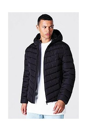 Boohoo Tall Recycled Quilted Zip Through Jacket