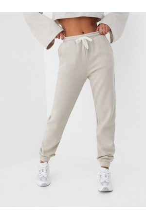 Object Naiset Collegehousut - Objkaisa Sweat Pant Noos Silver Gray Col