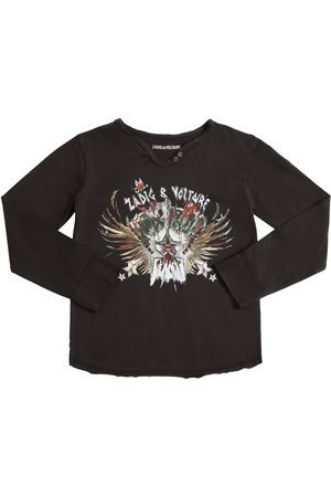 Zadig & Voltaire Printed Cotton Jersey T-shirt