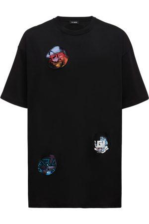 RAF SIMONS Miehet T-paidat - Oversize Cotton Jersey T-shirt