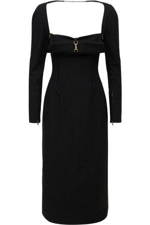 Jacquemus Naiset Midimekot - La Robe Terra Viscose Blend Midi Dress