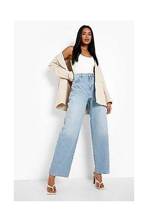 Boohoo Straight Leg Denim Jeans