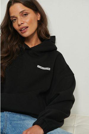 Calvin Klein Micro Flock Hoodie - Black