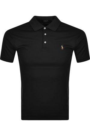 Ralph Lauren Miehet Pikee - Slim Fit Polo T Shirt Black