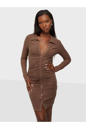 NLY Ruched Rib Dress