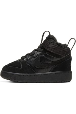 Nike Court Borough Mid 2 Baby and Toddler Boot - Black