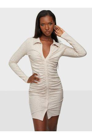 NLY Naiset Kotelomekot - Ruched Rib Dress
