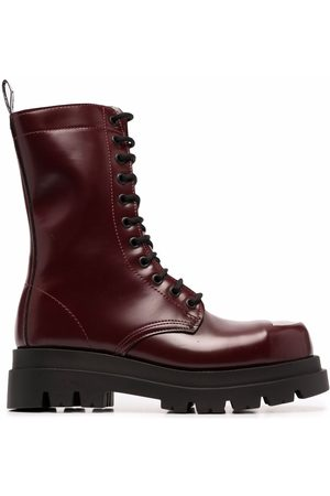 Cult Naiset Nauhalliset saappaat - Lace-up chunky sole boots