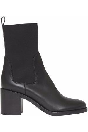 Burberry Naiset Nilkkurit - Block-heel Chelsea boots