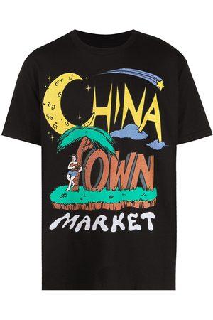MA®KET Miehet T-paidat - Shooting Star logo-print T-shirt
