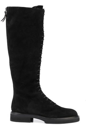 Khaite Naiset Nauhalliset saappaat - York lace-up boots