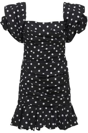 PRABAL GURUNG Off-the-shoulder Cotton Jersey Mini Dres