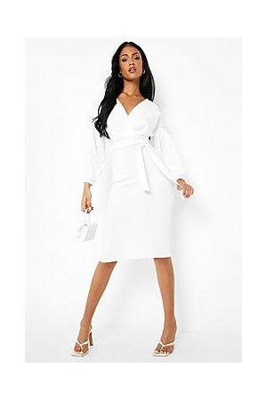 Boohoo Naiset Midimekot - Tall Recycled Off The Shoulder Midi Dress