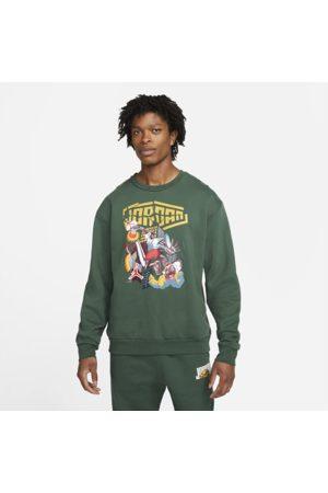 Nike Jordan Sport DNA Men's Fleece Crew Sweatshirt - Green