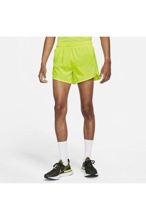 Nike Fast Men's 10cm Running Shorts - Yellow