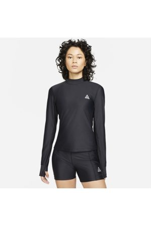 """Nike ACG Dri-FIT ADV """"Crater Lookout"""" Women's Cropped Top - Black"""