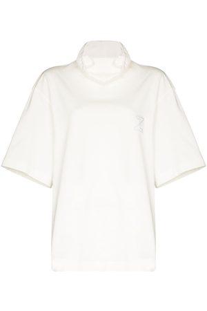 Zilver Naiset T-paidat - Short sleeve mask T-shirt