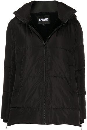Apparis Naiset Trenssit - Zip-fastening hooded coat