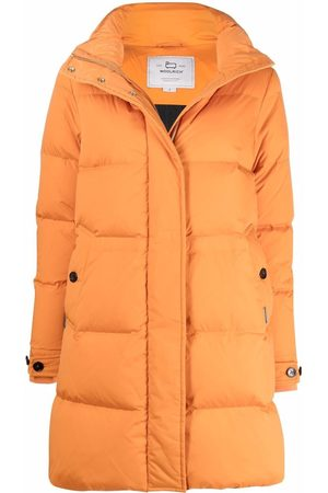 Woolrich Hooded zip-up padded coat