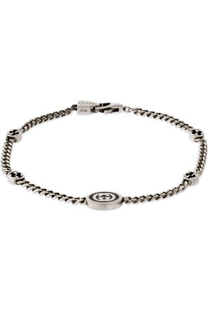 Gucci Thin Interlocking G Bracelet