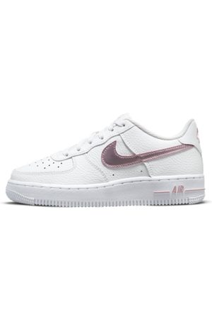 Nike Air Force 1 Older Kids' Shoes - White