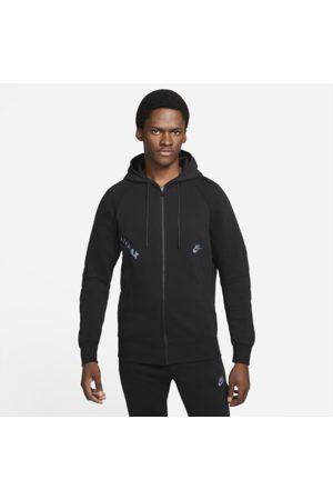 Nike Sportswear Air Max Men's Full-Zip Fleece Hoodie - Black