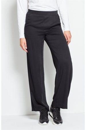 Cellbes Naiset Leveälahkeiset - Leveälahkeiset housut, joissa takaa joustava vyötärö